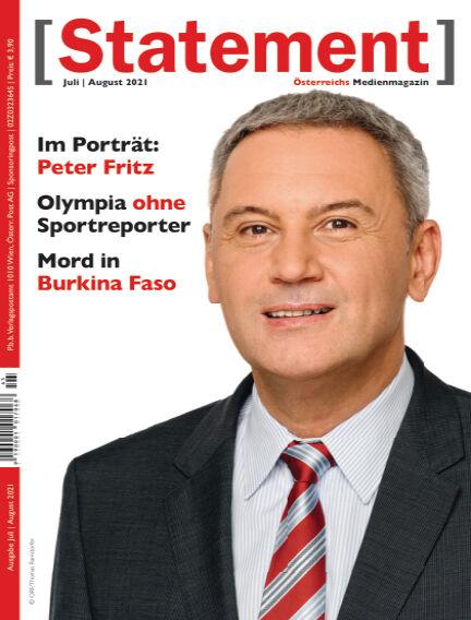 [Statement] - Österreichs Medienmagazin July 05, 2021 00:00