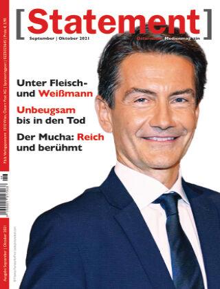 [Statement] - Österreichs Medienmagazin Sept./Okt. 2021