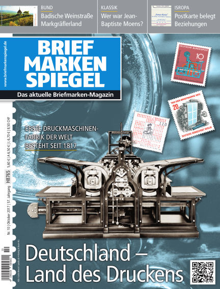 BRIEFMARKEN SPIEGEL October 21, 2017 00:00