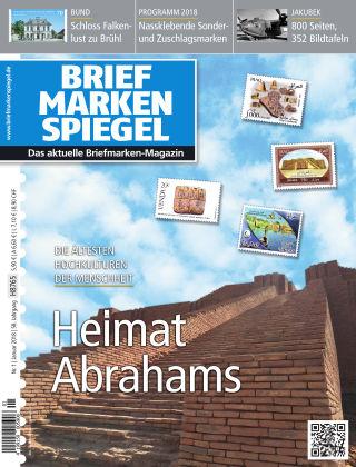 BRIEFMARKEN SPIEGEL 01/2018