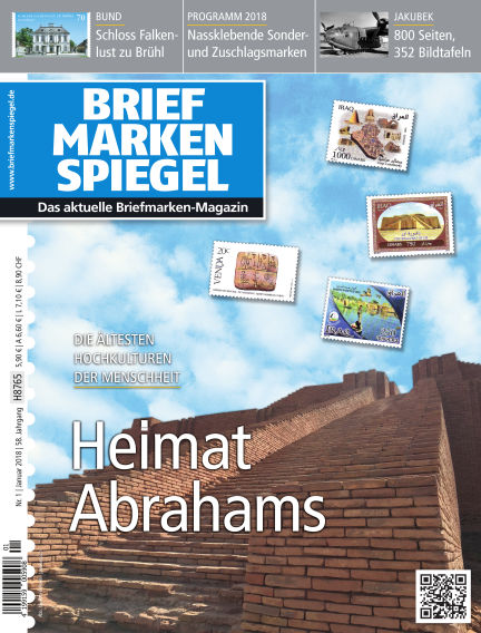 BRIEFMARKEN SPIEGEL December 22, 2017 00:00