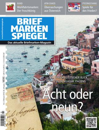 BRIEFMARKEN SPIEGEL 02/2018