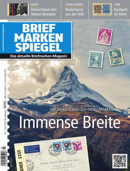 BRIEFMARKEN SPIEGEL June 29, 2018 00:00