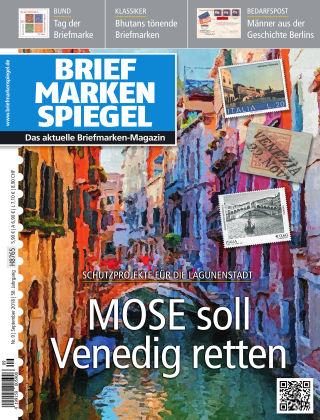 BRIEFMARKEN SPIEGEL 09/2018