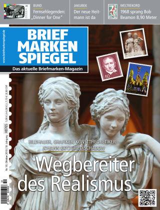 BRIEFMARKEN SPIEGEL 10/2018