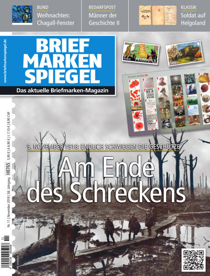 BRIEFMARKEN SPIEGEL October 26, 2018 00:00