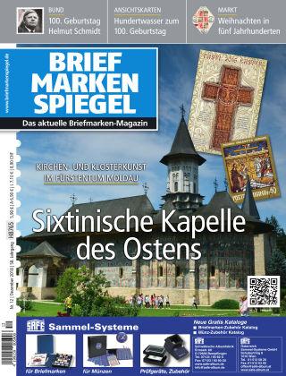 BRIEFMARKEN SPIEGEL 12/2018