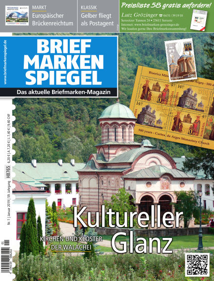 BRIEFMARKEN SPIEGEL December 21, 2018 00:00