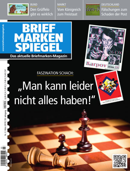 BRIEFMARKEN SPIEGEL February 22, 2019 00:00