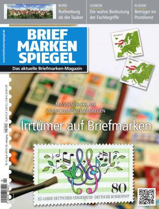 BRIEFMARKEN SPIEGEL 04/2019