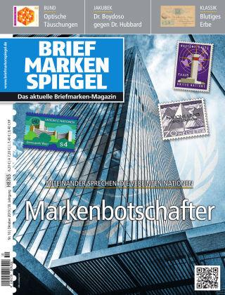 BRIEFMARKEN SPIEGEL 10/2019