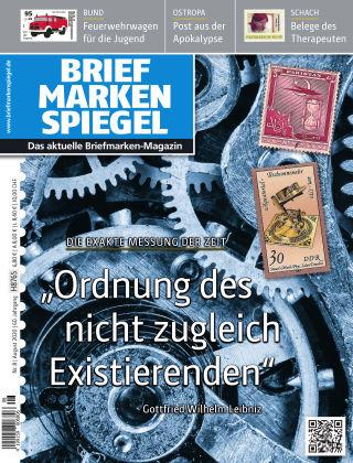 BRIEFMARKEN SPIEGEL 08/2020