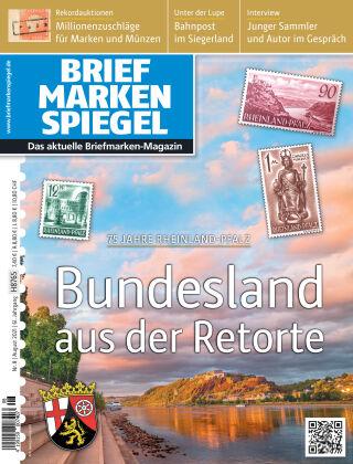 BRIEFMARKEN SPIEGEL 08/2021