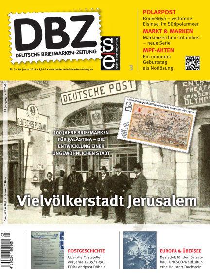 Deutsche Briefmarken-Zeitung January 20, 2018 00:00