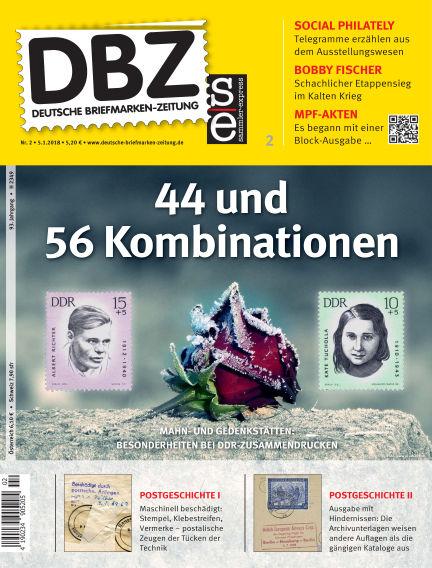 Deutsche Briefmarken-Zeitung January 05, 2018 00:00
