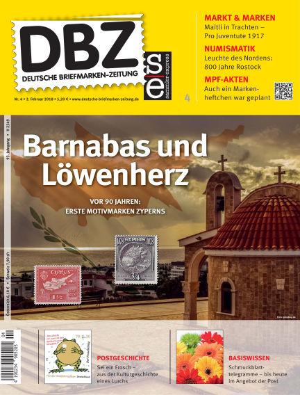 Deutsche Briefmarken-Zeitung February 02, 2018 00:00
