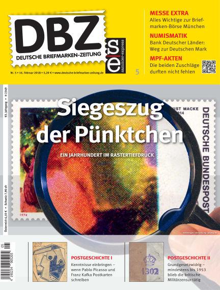 Deutsche Briefmarken-Zeitung February 16, 2018 00:00