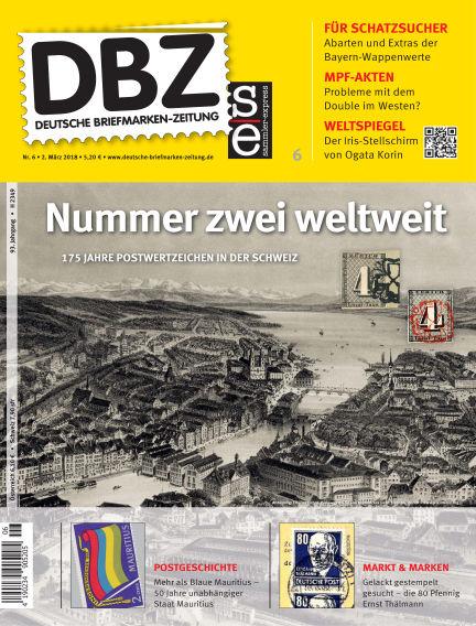 Deutsche Briefmarken-Zeitung March 02, 2018 00:00