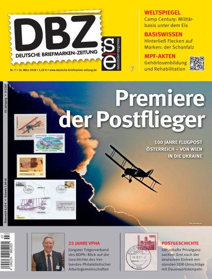Deutsche Briefmarken-Zeitung March 16, 2018 00:00