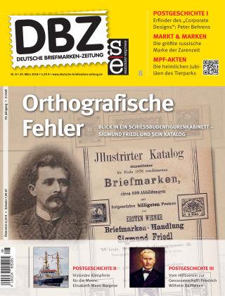 Deutsche Briefmarken-Zeitung 08/2018
