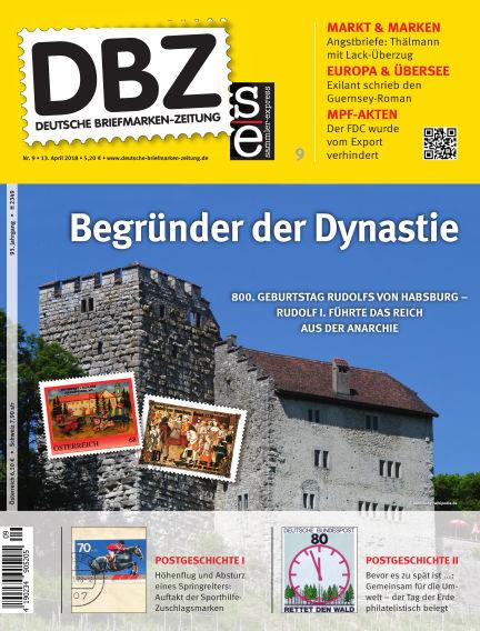 Deutsche Briefmarken-Zeitung April 13, 2018 00:00