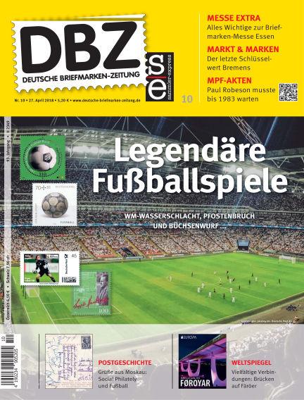 Deutsche Briefmarken-Zeitung April 27, 2018 00:00