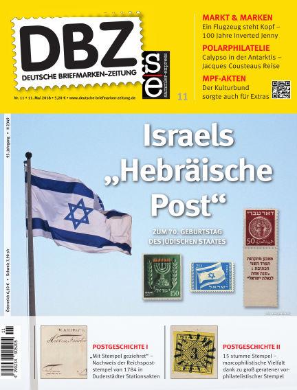 Deutsche Briefmarken-Zeitung May 11, 2018 00:00