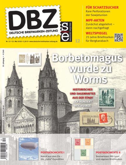 Deutsche Briefmarken-Zeitung May 25, 2018 00:00