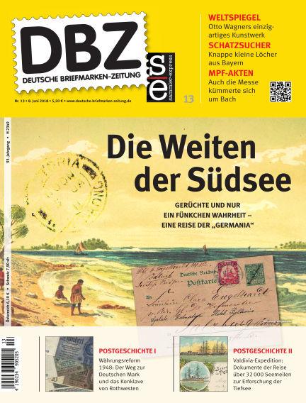 Deutsche Briefmarken-Zeitung June 08, 2018 00:00