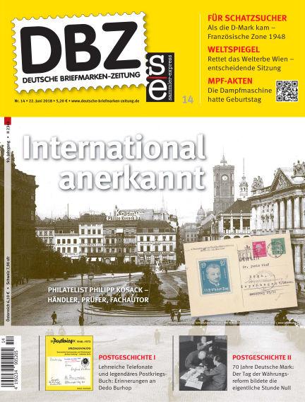 Deutsche Briefmarken-Zeitung June 22, 2018 00:00