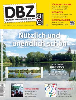 Deutsche Briefmarken-Zeitung 15/2018