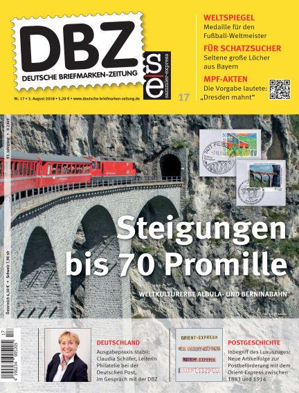 Deutsche Briefmarken-Zeitung August 03, 2018 00:00