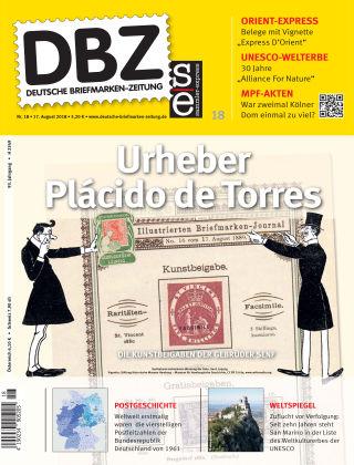 Deutsche Briefmarken-Zeitung 18/2018