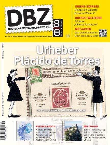Deutsche Briefmarken-Zeitung August 17, 2018 00:00