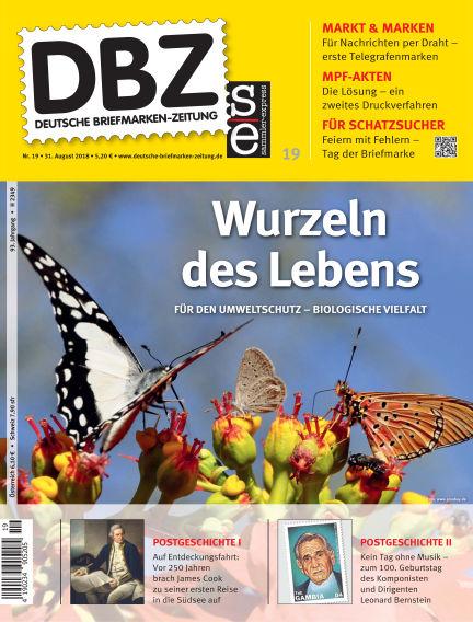 Deutsche Briefmarken-Zeitung August 31, 2018 00:00