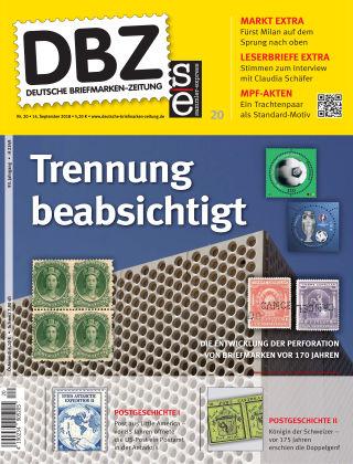 Deutsche Briefmarken-Zeitung 20/2018