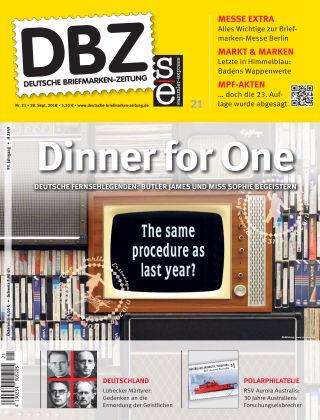 Deutsche Briefmarken-Zeitung 21/2018