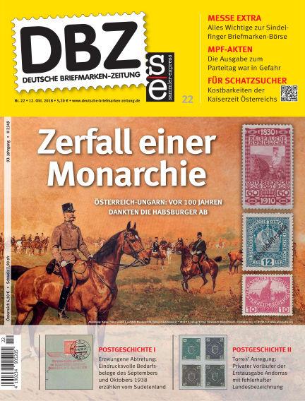 Deutsche Briefmarken-Zeitung October 12, 2018 00:00