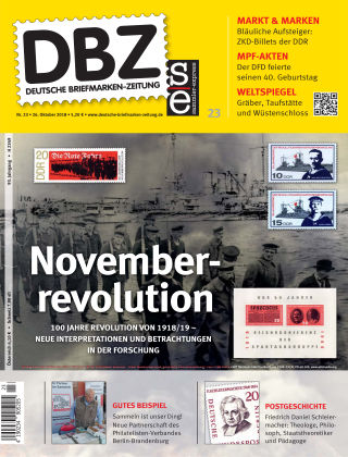 Deutsche Briefmarken-Zeitung 23/2018
