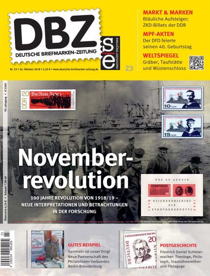 Deutsche Briefmarken-Zeitung October 26, 2018 00:00