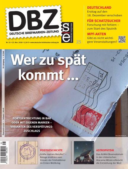 Deutsche Briefmarken-Zeitung November 23, 2018 00:00