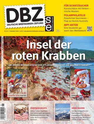 Deutsche Briefmarken-Zeitung 26/2018