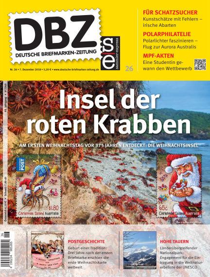 Deutsche Briefmarken-Zeitung December 07, 2018 00:00
