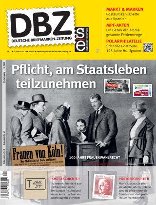Deutsche Briefmarken-Zeitung 02/2019