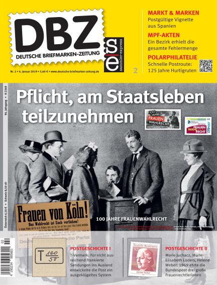 Deutsche Briefmarken-Zeitung January 04, 2019 00:00