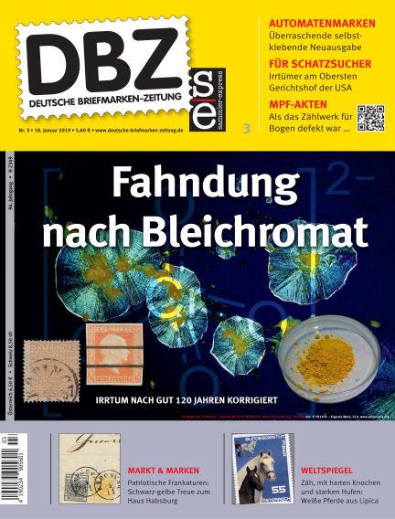 Deutsche Briefmarken-Zeitung January 18, 2019 00:00