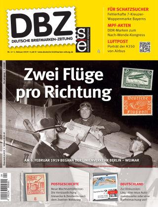 Deutsche Briefmarken-Zeitung 04/2019