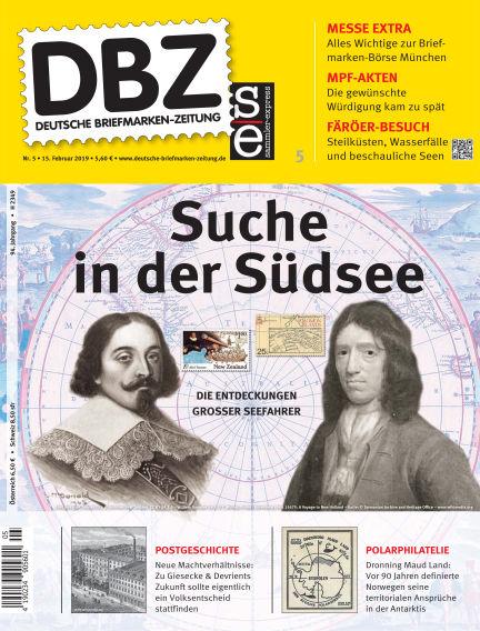 Deutsche Briefmarken-Zeitung February 15, 2019 00:00