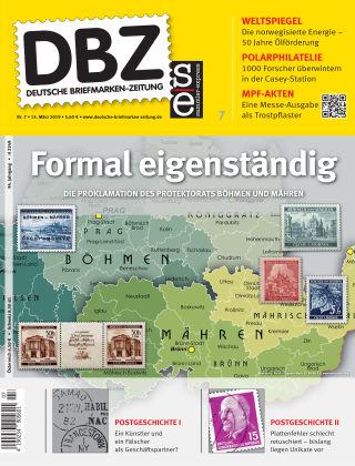 Deutsche Briefmarken-Zeitung 07/2019