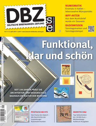 Deutsche Briefmarken-Zeitung 09/2019